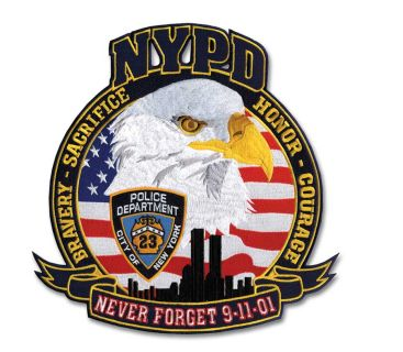 "NYPD 911 23 - 12""Wide-Hero's Pride"