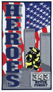 "FDNY 911 343 - 12""High-Hero's Pride"