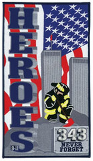 """Heroes 343 9-11 - 6-3/4 X 12""""-"""