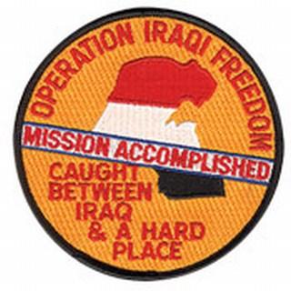 "Operation Iraqi Freedom - Mission Accomplished - 4""Circle-"