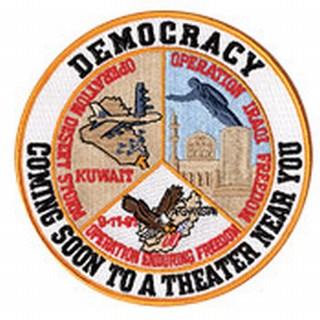 "Democracy - 5""Circle-"