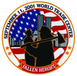 "5""Tribute Patch Fallen Heroes-"