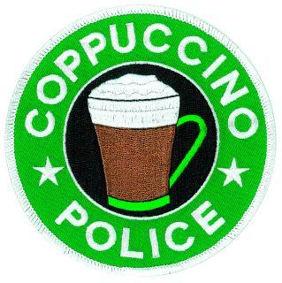 """Coppuccino Police - 4-1/16""""Circle-"""