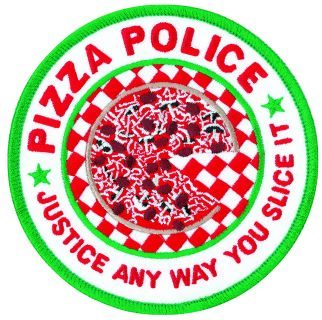 "Pizza Police - 4""Circle-"