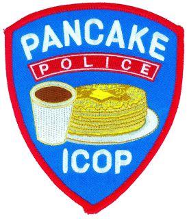 Pancake Police - 4-1/8 X 5-