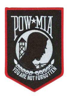 POW MIA - 3 9/16 X 5-