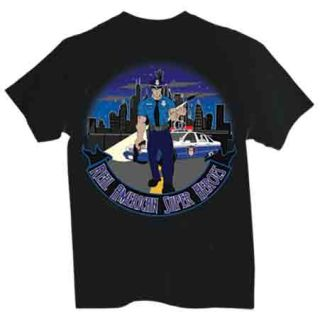 Police Officer: American Superhero - T-shirt-