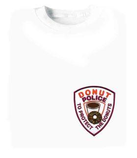 Donut Police - T-shirt