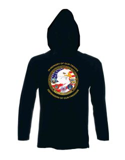 Defenders Of Our Freedom - Sweatshirt Hood-Hero's Pride