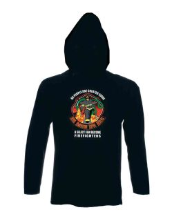 Firefighter: American Superhero - Sweatshirt Hood-Hero's Pride