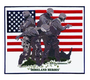 """Homeland Heroes - 13 X 11""""-"""