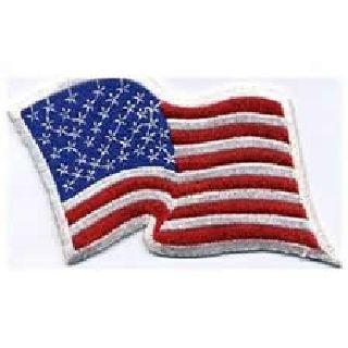 Wavy Flag - 3-1/2 X 2-3/4-