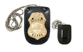 Universal U-Shaped Badge Holder With Hook Fastener-Hero's Pride