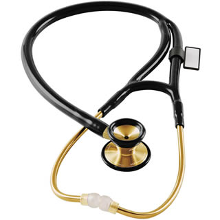 MDF® Classic Cardiology™ Stethoscope - 22K Gold Edition