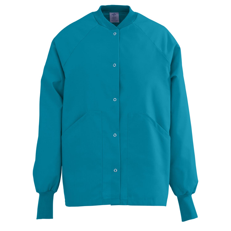Angel Stat Ladies Knit Collar Warm-up Jacket-Medline