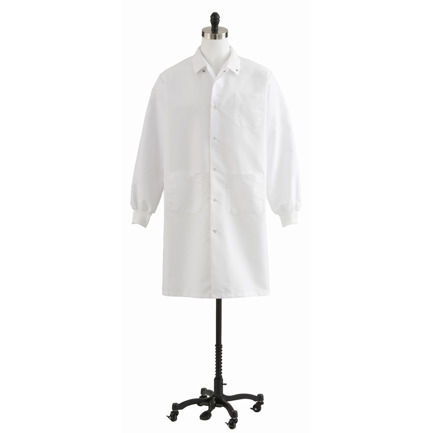 87026 Unisex Knee Length Lab Coat-Medline