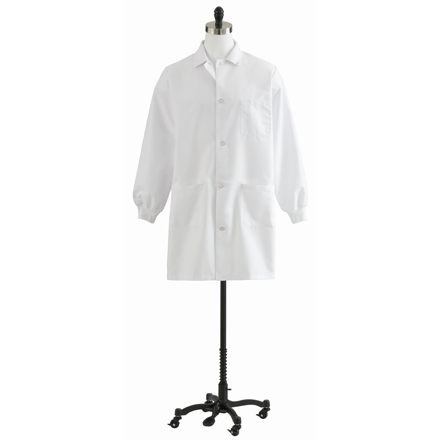 87050 Unisex Knee Length Lab Coat-Medline