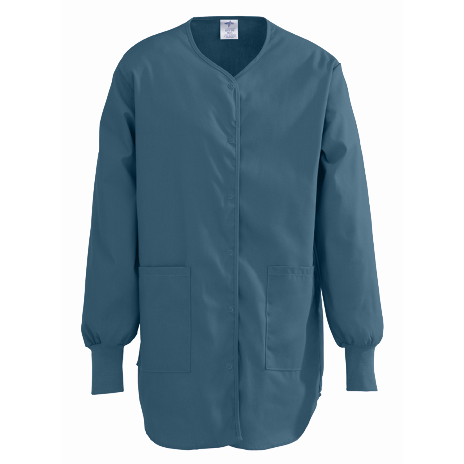 8812 Comfort Ease Shirttail Style Warm-up Jacket-Medline