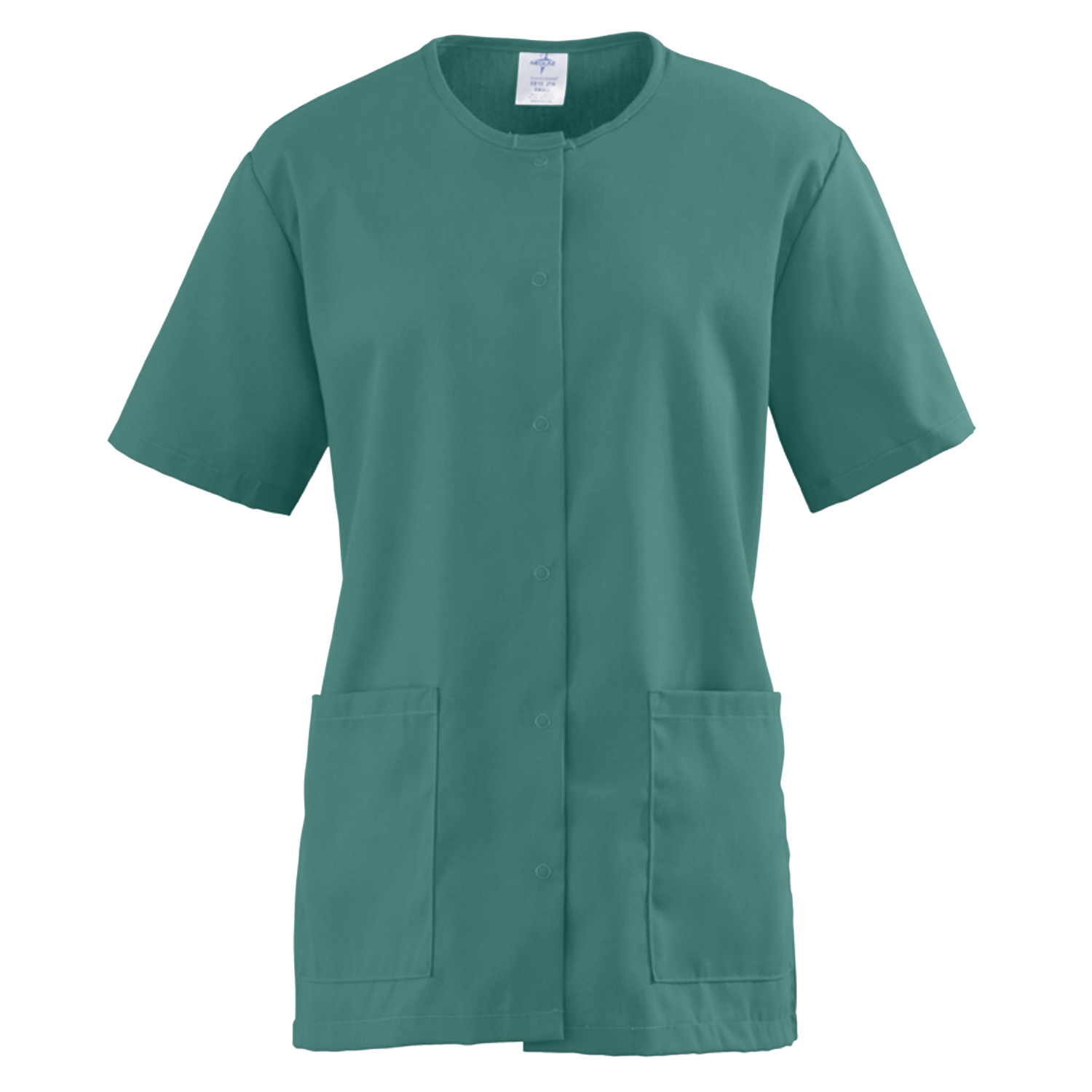 Comfortease Snap Front Tunic Scrub Top-Medline