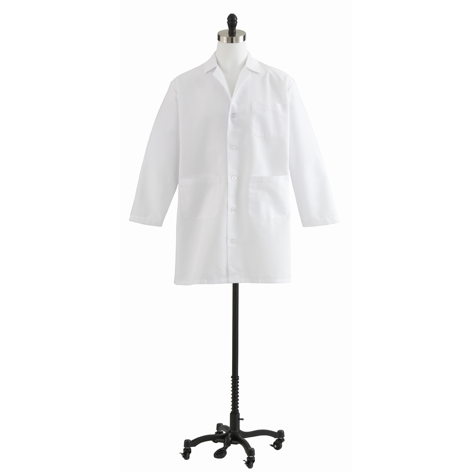 Unisex Staff Length Lab Coat-Medline