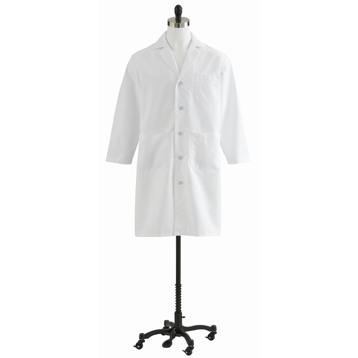 Unisex Full Length Lab Coat-Medline