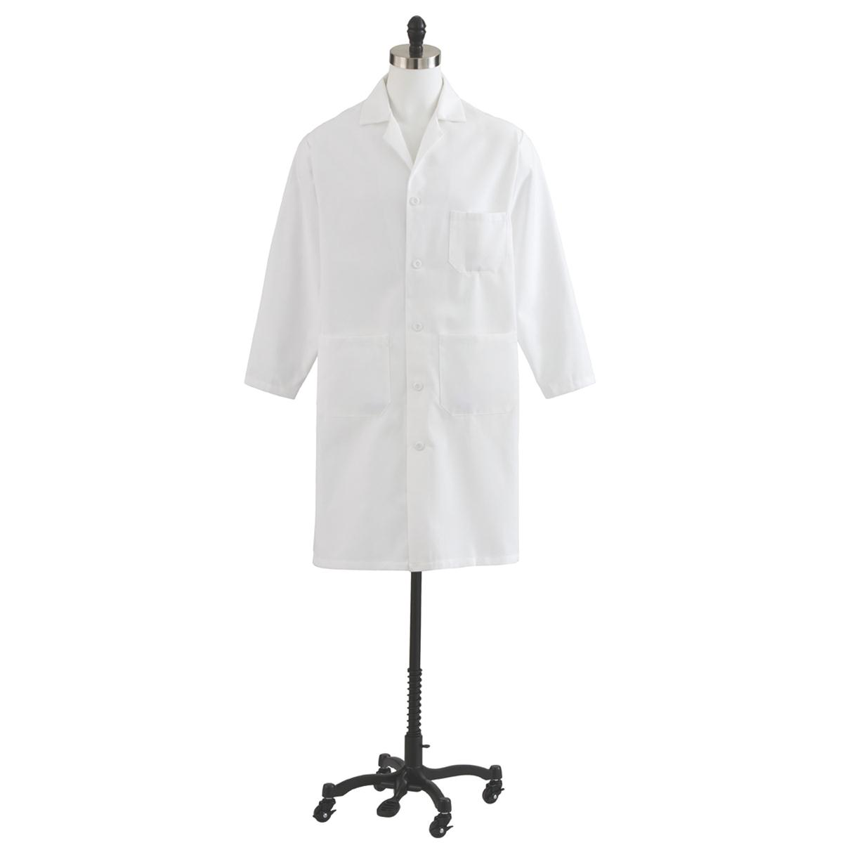 Men's Twill Full Length Lab Coat-Medline