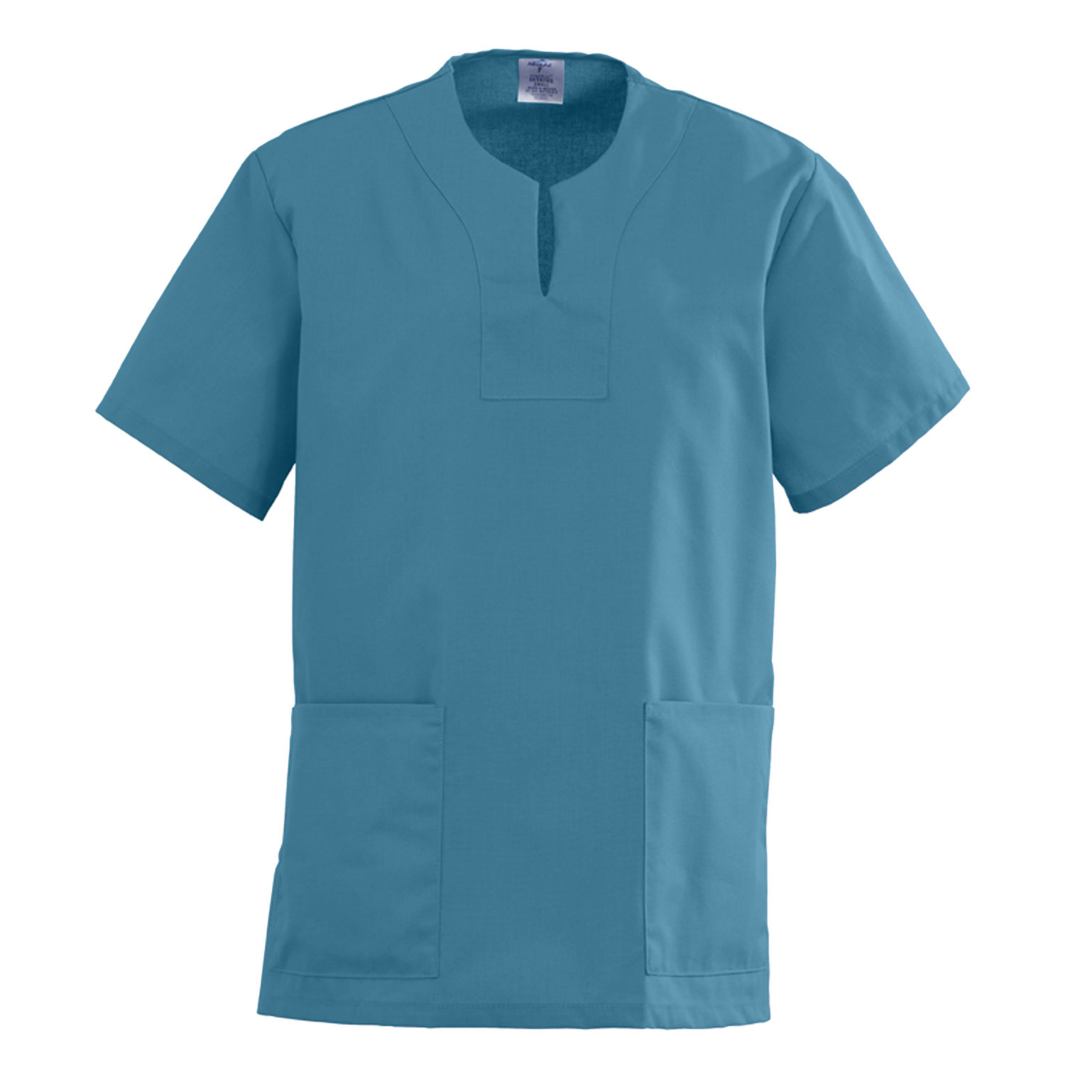 Angelstat Ladies Keyhole Neckline Scrub Top-Medline