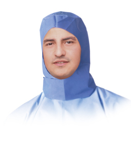 Surgeon Hoods,Blue,One Size Fits Most