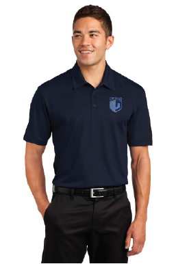 Drone U Embroidered Sport-Tek® PosiCharge® Active Textured Colorblock Polo.-Sport-Tek