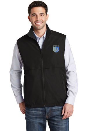Drone U Embroidered Port Authority® Reversible Charger Vest.-Port Authority