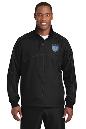 Drone U Embroidered Sport-Tek® Shield Ripstop Jacket.-Sport-Tek