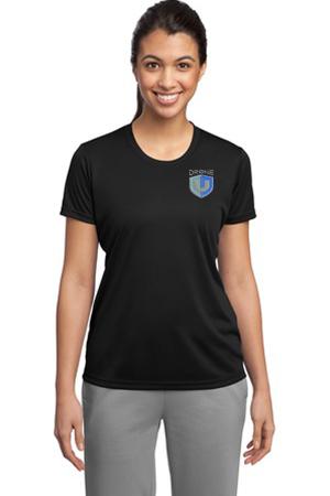 Drone U Embroidered Sport-Tek® Ladies PosiCharge® Competitor Tee.-Sport-Tek