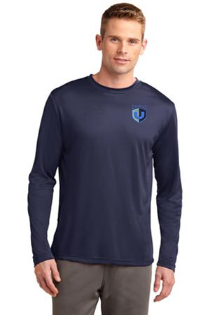 Drone U Embroidered Sport-Tek® Long Sleeve PosiCharge® Competitor Tee.-Sport-Tek