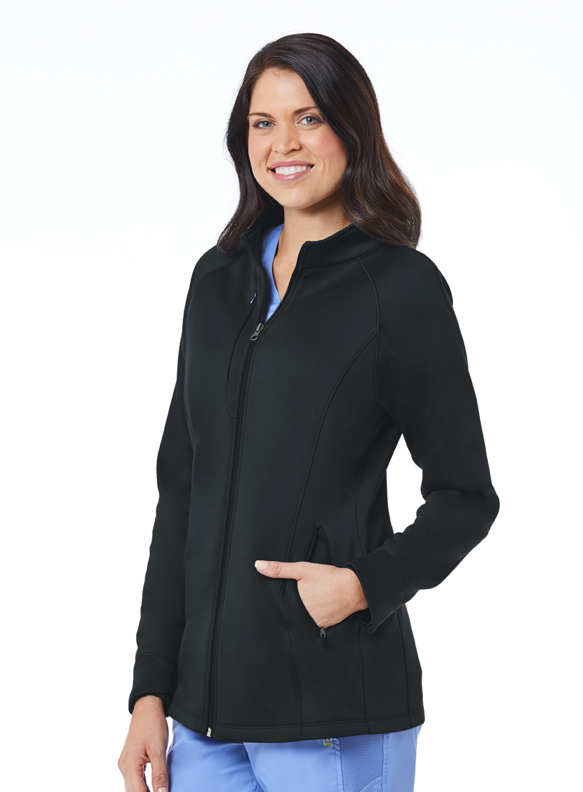 Women's Blaze Bonded Fleece Jacket-Maevn