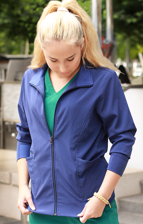 IRG Elevate Zip Front Jacket-Raley Scrubs