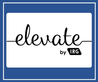 Elevate by IRG | Logo