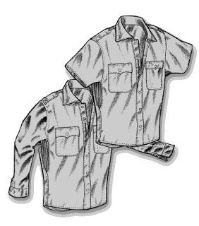 L/S Vapor Patrol Shirt-Mocean