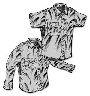 L/S STP Shirt-Mocean