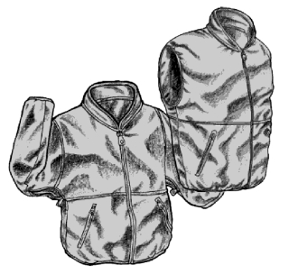 Micro Fleece Zip In Jacket-