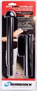 AutoLock®-22 w/360 Plain Holder, Hindi Baton Cap™ With Foam Grip-