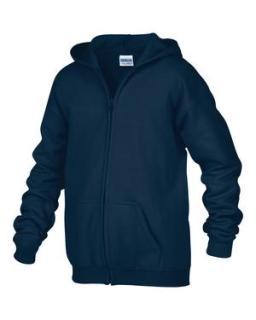 Gildan® Heavy Blend™Full Zip Hooded Youth Sweatshirt