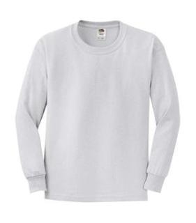 Fruit of the Loom® Heavy Cotton HD™ Long-Sleeve Youth T-Shirt