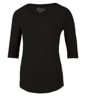 ATC™ EuroSpun 3/4 Sleeve Ladies' Tee-ATC™