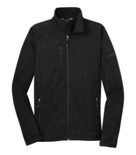 Eddie Bauer® Shaded Crosshatch Soft Shell Jacket-Eddie Bauer®