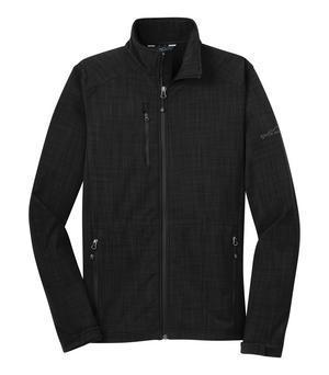 Eddie Bauer® Shaded Crosshatch Soft Shell Jacket-Eddie Bauer®