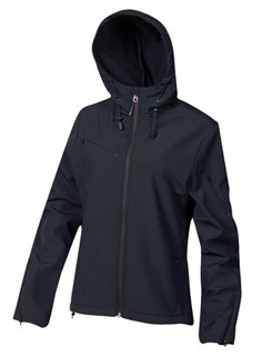 Coal Harbour® Hooded Soft Shell Ladies' Jacket-Coal Harbour®