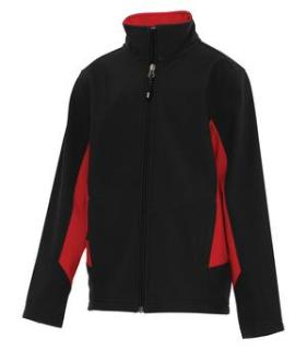 Coal Harbour® Everyday Colour Block Soft Shell Youth Jacket-Coal Harbour®