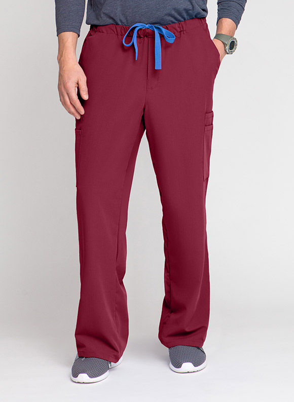 Drawstring Zipper Cargo Pant-Medline