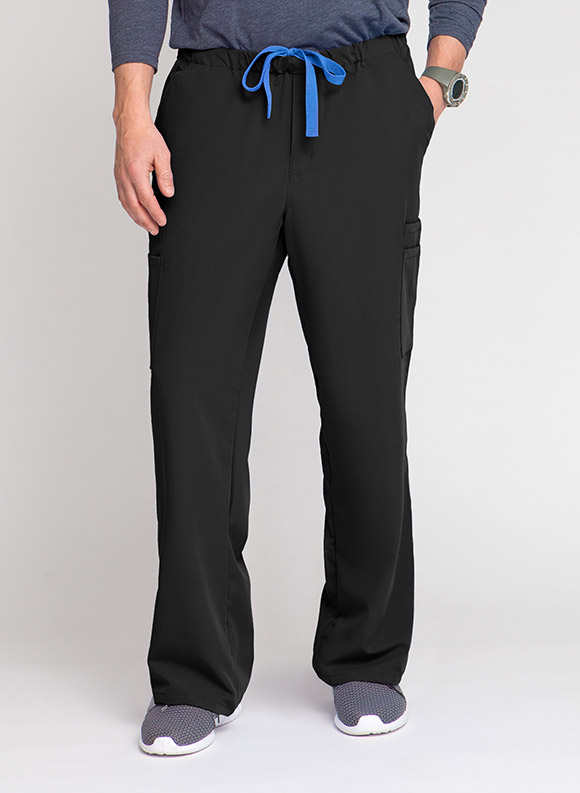 Drawstring Zipper Cargo Pant -Medline