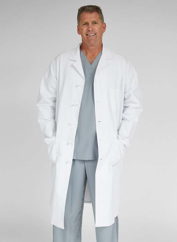 Premium Full Length Lab Coat-Medline